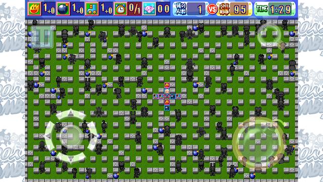 ハドソンのあの国民的ゲーム、ボンバーマンが100人対戦に!【100人大戦ボンバーマン】 (2)