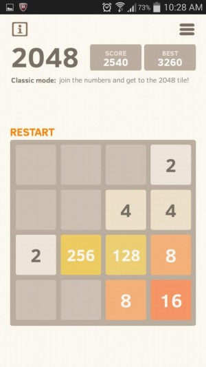 2048 Number Puzzle game (2)