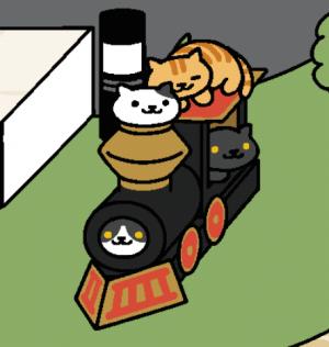 ねこあつめ、機関車デラックス2
