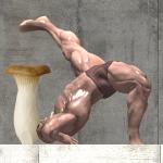 【激ムズすぎ!?シュールな世界観が魅力のアクションゲーム「激ムズ!キノコと筋肉」激ムズ!キノコと筋肉 をやってみた】