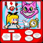 レトロ風?なアクションパズルゲーム!クッキーを使いこなし、ウサギと一緒に脱出しよう!【ピコピコ脱出系アクション『アリスの不思議なクッキー』 をやってみた】