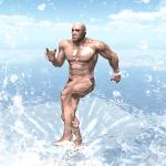 衝撃のビジュアル!衝撃の内容!とにかくやばい「海の上の筋肉」【海の上の筋肉】