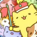 たくさんの猫に囲まれて、さかな屋にお礼参りするゲーム!