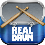 ロックに叩け、スタイリッシュに決める本格ドラムゲーム!【Real Drum – ドラムセット をやってみた】