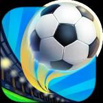 サッカースタジアムにいる臨場感を味わいながらPKを楽しむ【PK王 – 大人気☆無料サッカーゲームアプリ をやってみた】