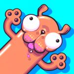 にょきにょき伸ばしながら進む新感覚アクションゲーム【Silly Sausage in Meat Land をやってみた】