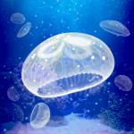 携帯電話が水槽に!クラゲを育てて大きくしよう【Jellyfish Aquarium Free】