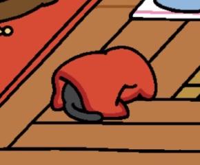 あったか毛布(赤)2