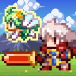 魔王の力を与えられたドットで描かれる懐かしい勇者【勇者と1000の魔王】